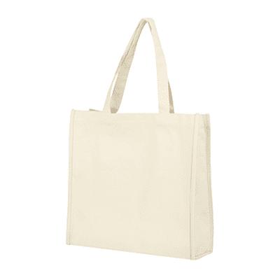 GIB1003 Canvas Bag A3 (12oz) 1 Giftsdepot Canvas Bag A3 beige a01
