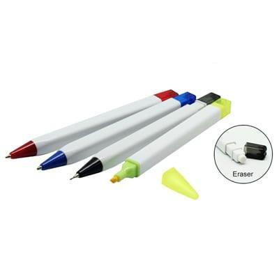 GIH1017 Combo 5 in 1 Pen Set 2 5 in 1 Combo Pen Set eraser