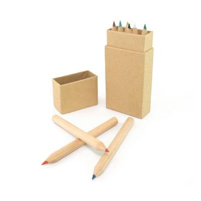 GEF1001 Eco-Friendly Colour Pencil (mini) 3
