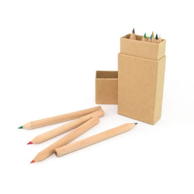 GEF1001 Eco-Friendly Colour Pencil (mini) 1