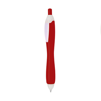 GIH1031 Bubble Plastic Ball Pen 1 Giftsdepot Bubble Push Action Plastic Ball Pen view main red a01