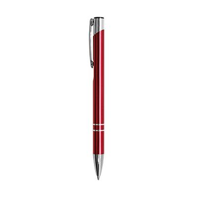 GIH1036 Cuba Metal Ball Pen 1 Giftsdepot Cuba Push Action Metal Ball Pen view main red