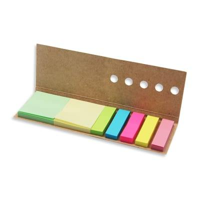 GIH1004 Eco Sticky Notes with Ruler 2 Eco Sticky Notes with Ruler neon