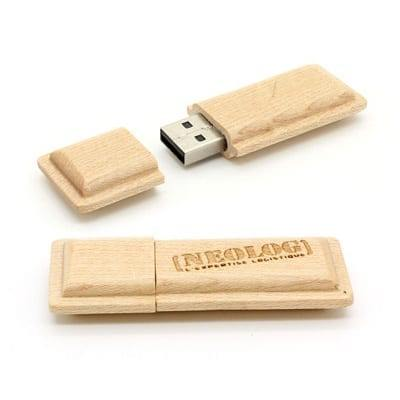 GFY1006 Kit Kaat Wooden Flash Drive 2
