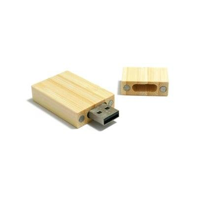 GFY1011 Rectangle Wooden Flash Drive 1 Rectangle Wooden Flash Drive