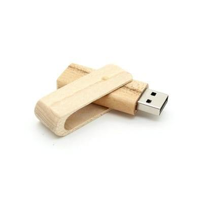 GFY1013 Swivel Wooden Flash Drive 1 Swivel Wooden Flash Drive