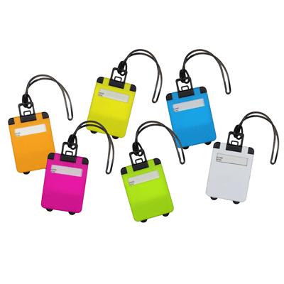 GIH1045 EZY Luggage Tag 2 Giftsdepot EZ Luggage Tag colours