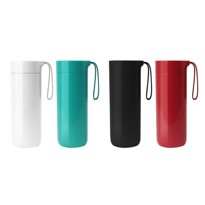 Giftsdepot Drinkware Butterfly Suction Thermal Bottle Colour Series