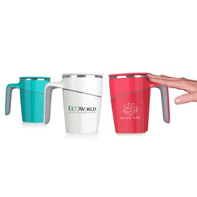 GiftsDepot Drinkware Grace Suction Thermal Mug With Logo
