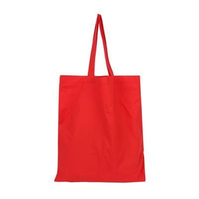 GGP1020 Coloured Canvas Bag 5 Coloured Canvas Bag red