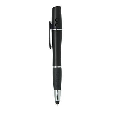 GIH1123 MIB LED Stylus Gel Pen with Laser Pointer 1