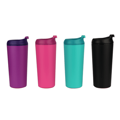 GiftsDepot Drinkware Deer Suction Double Wall Bottle Colour Series