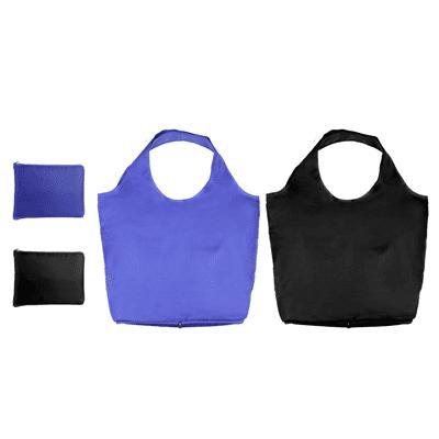 GiftsDepot Bag Foldable Shopping Bag Purple Black