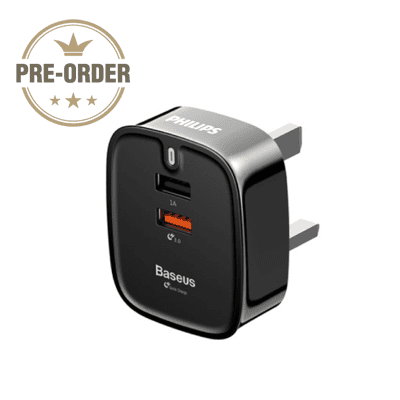 GBS-QC Baseus Funzi Dual USB Fast Charger (pre-order) 1 Giftsdepot Baseus Funzi Dual USB Fast Charger pre order
