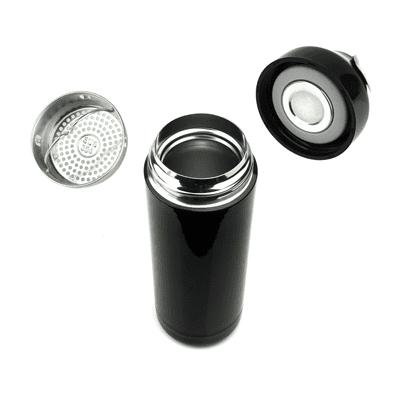 GiftsDepot Drinkware Leia Vacuum Flask Opened View