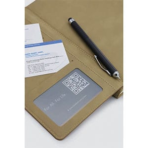 GED1014 Lassoskin Notebook (A5) 3 giftsdepot lassoskin notebook 3