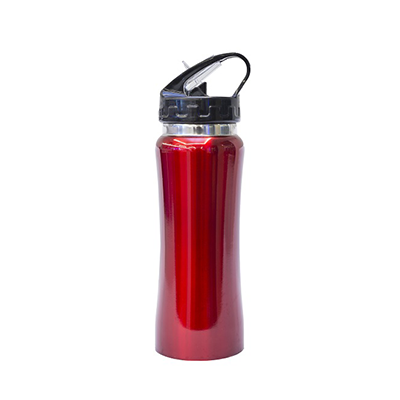 GBG1065 Stainless Steel Sport Bottle With Straw 1 Giftsdepot Stainless Steel Sport Bottle With Straw view main