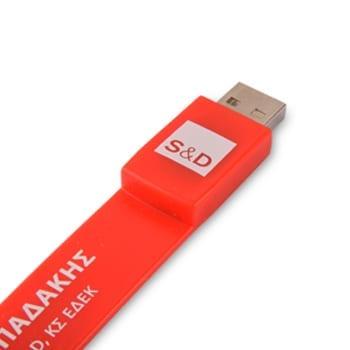 GFY1093 Classic Silicon Wristband Flash Drive 2 classic silicon wristband flash drive product b