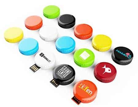 GFY1078 Mini Round USB Flash Drive 2 giftsdepot Round mini USB Flash Drive 6