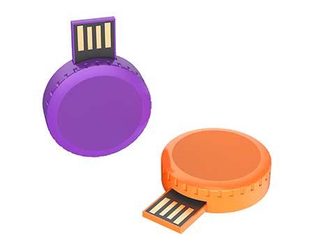 GFY1078 Mini Round USB Flash Drive 5 giftsdepot Round mini USB Flash Drive 7