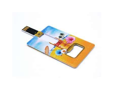 GFY1163 Card Bottle Opener USB Flash Drive 1