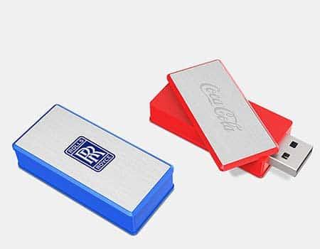 GFY1165 Classic Round Twist Swivel Flash Drive 2