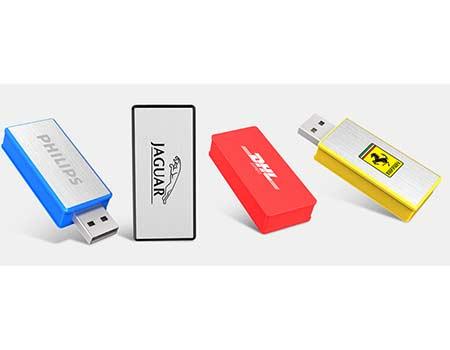 GFY1165 Classic Round Twist Swivel Flash Drive 4