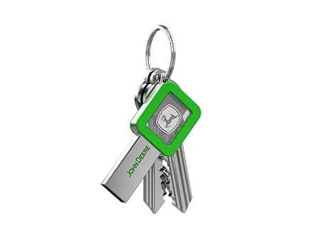 GFY1072 LED Keyshaped USB flash drive 5 giftsdepot led keyshaped flash drive 1