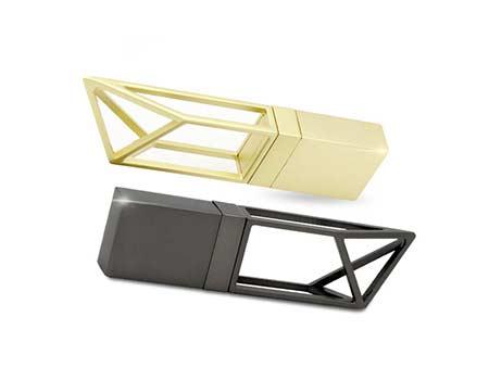 GFY1075 Metal Hollow Style Flash Drive 2 giftsdepot metal hollow style usb flash drive 2