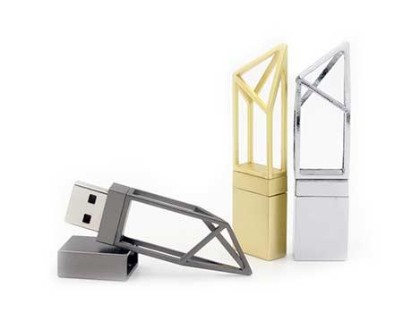 GFY1075 Metal Hollow Style Flash Drive 9 giftsdepot metal hollow style usb flash drive 3