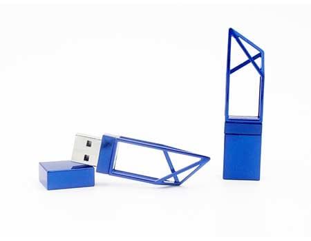 GFY1075 Metal Hollow Style Flash Drive 5 giftsdepot metal hollow style usb flash drive 7
