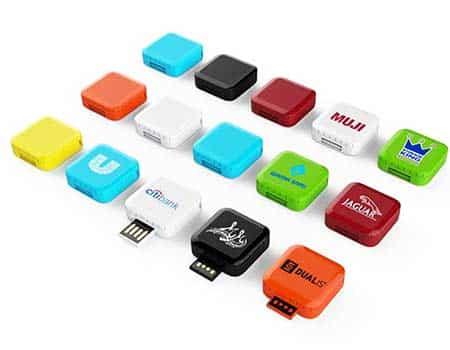 GFY1077 Mini Square USB Flash Drive 2 giftsdepot mini square USB Flash Drive 3