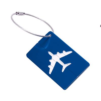 GBG1068 Aluminium Luggage Tag 1