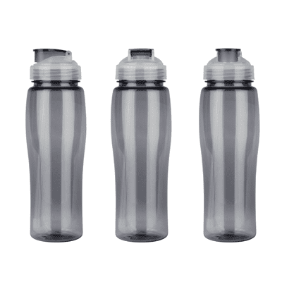 GIH1122 Denver Tritan Drink Bottle with Straw (650ml) 2 Giftsdepot Denver Tritan Drink Bottle with Straw view grey colour