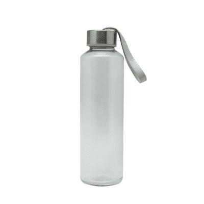 GIH1006 Like Me Travel Glass Bottle with Neoprene Pouch (500ml) 3 Giftsdepot Like Me Travel Glass Bottle with Neoprene Pouch view
