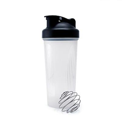 GHL1022 PP Bottle with Shaker 1 Giftsdepot PP Bottle With Shaker black