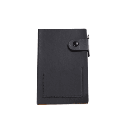 GBG1064 PU Notebook with Post It Note & Pen 1