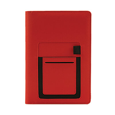 GED1020 Vippo Planner 1 Giftsdepot Vippo Diary view main red a01
