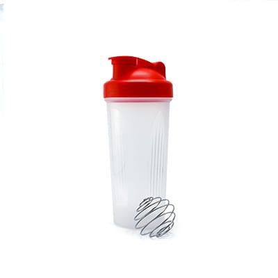 GHL1022 PP Bottle with Shaker 3 PP Bottle With Shaker red