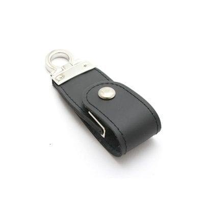 GFY1042 Snap Fastener PU Leather Flash Drive 1