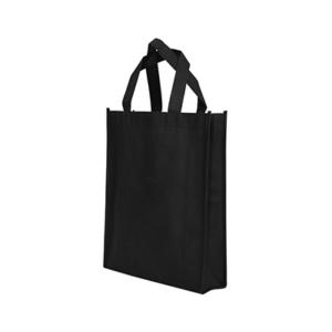 Giftsdepot - Non Woven Bag, A4 Size, Stitches, Black Color, Malaysia