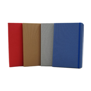 Giftsdepot - Fabricaslim Notebook 2021,A5 size, PU Material, All Colors, Malaysia