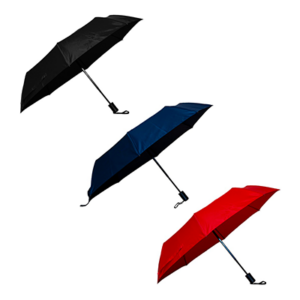 Giftsdepot - Foldable Auto Umbrella With Pouch, All colors, Malaysia