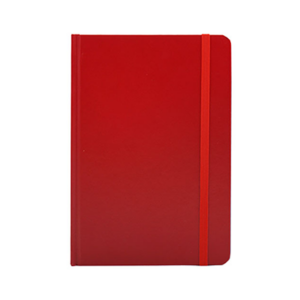 Giftsdepot - Karmaslim Notebook 2021,A5 size, Paper Material, Red Color, Malaysia